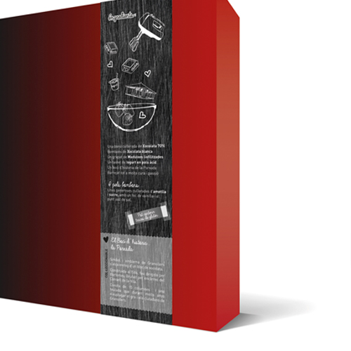 Xocolates Granollers Packaging